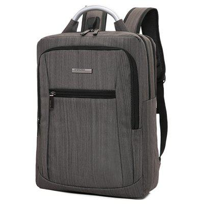 Trendy Pure Color Backpack for MenBackpacks<br>Trendy Pure Color Backpack for Men<br><br>Features: Wearable<br>Gender: Men<br>Package Size(L x W x H): 32.00 x 3.00 x 43.00 cm / 12.6 x 1.18 x 16.93 inches<br>Package weight: 0.6900 kg<br>Packing List: 1 x Backpack<br>Product Size(L x W x H): 30.00 x 13.00 x 41.00 cm / 11.81 x 5.12 x 16.14 inches<br>Product weight: 0.6700 kg<br>Style: Fashion, Casual<br>Type: Backpacks