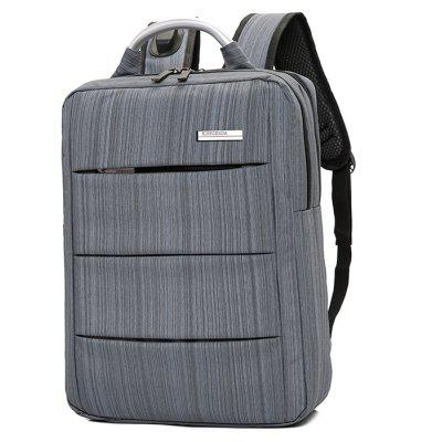 Simple Large-capacity Backpack for MenBackpacks<br>Simple Large-capacity Backpack for Men<br><br>Features: Wearable<br>For: Daily Use<br>Gender: Men<br>Material: Nylon<br>Package Size(L x W x H): 30.00 x 5.00 x 41.00 cm / 11.81 x 1.97 x 16.14 inches<br>Package weight: 0.6700 kg<br>Packing List: 1 x Backpack<br>Product Size(L x W x H): 29.00 x 13.00 x 40.00 cm / 11.42 x 5.12 x 15.75 inches<br>Product weight: 0.6500 kg<br>Style: Fashion, Casual<br>Type: Backpacks