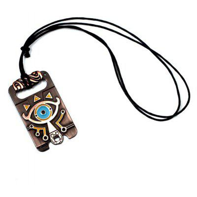 Pendant with Lovely Cartoon Pattern
