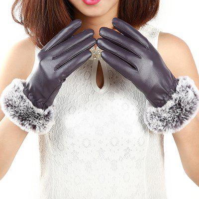 Female Warmest Thick Texting Touch Screen Gloves Mittens