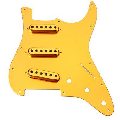 SSS Anodized Pickguard Single Pickup Cover for Guitar
