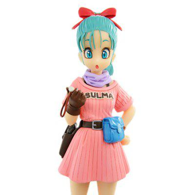 Cartoon Character BULMA Toy for DecorationMovies &amp; TV Action Figures<br>Cartoon Character BULMA Toy for Decoration<br><br>Completeness: Finished Goods<br>Gender: Unisex<br>Materials: Other<br>Package Contents: 1 x Toy<br>Package size: 12.00 x 10.00 x 18.50 cm / 4.72 x 3.94 x 7.28 inches<br>Package weight: 0.3000 kg<br>Product size: 8.00 x 8.00 x 16.00 cm / 3.15 x 3.15 x 6.3 inches<br>Product weight: 0.2500 kg<br>Stem From: Japan<br>Theme: Movie and TV