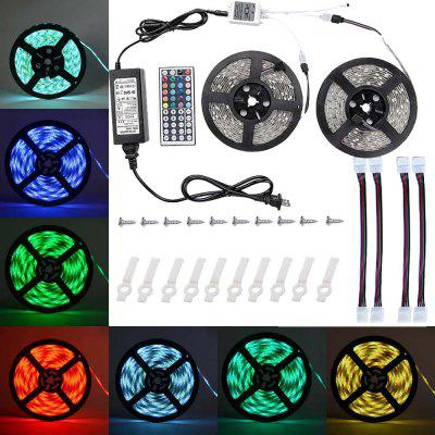 SUPli 10M 5050 RGB 600 LEDs Strip Light with IR 44 Key Remote Control