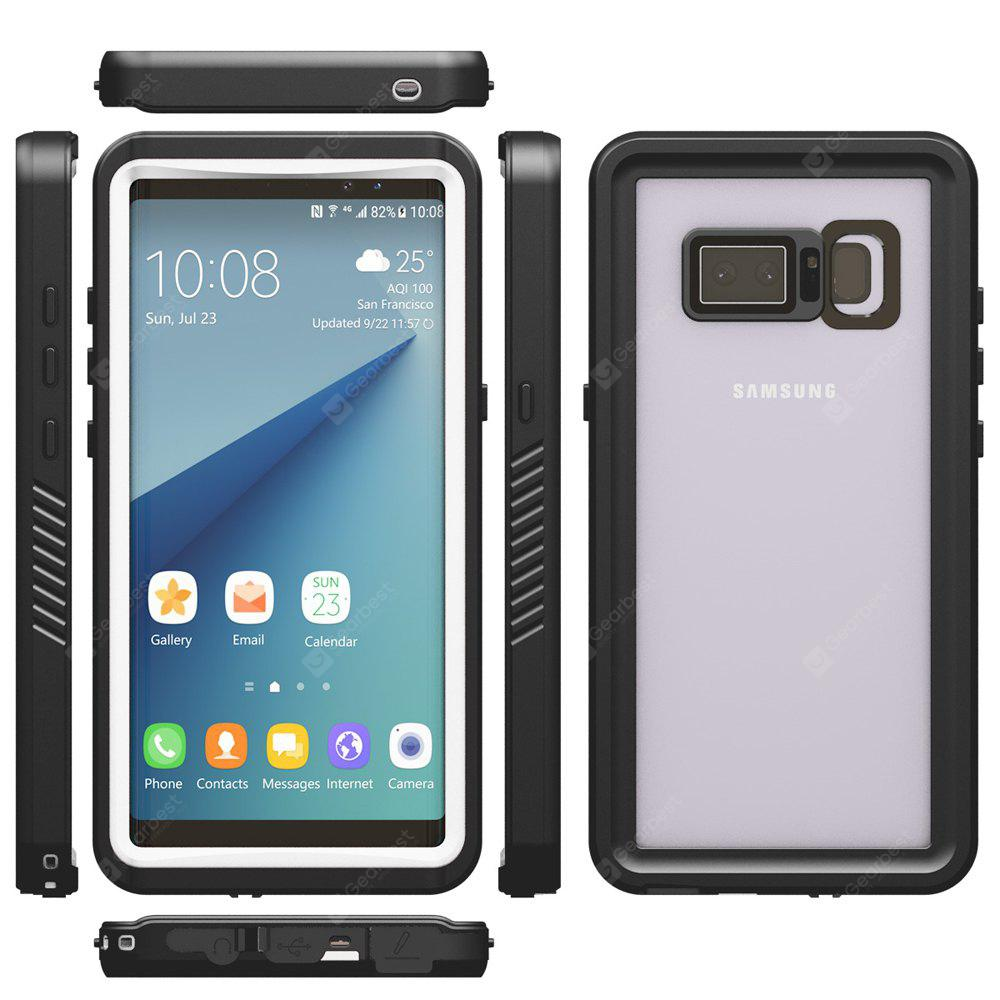 Buy Full Protective Waterproof Case Samsung Galaxy Note 8 WHITE