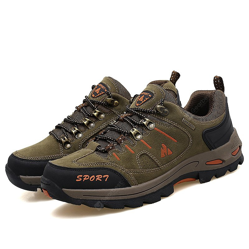 Men Outdoor Durable Suede Athletic Shoes