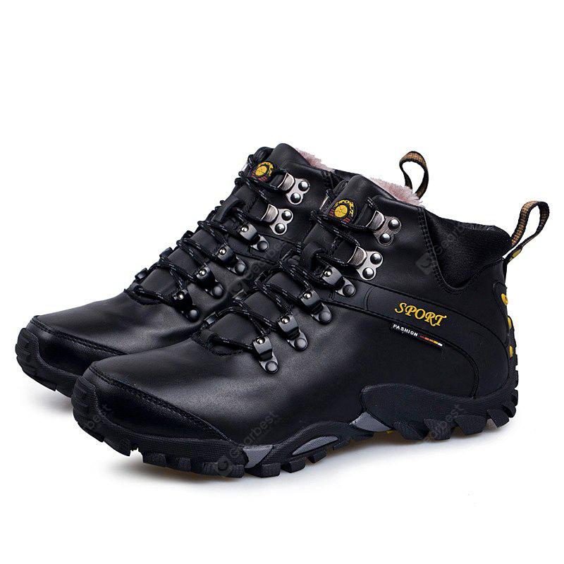 High Top Keep Warm Outdoor Hiking Shoes for Men