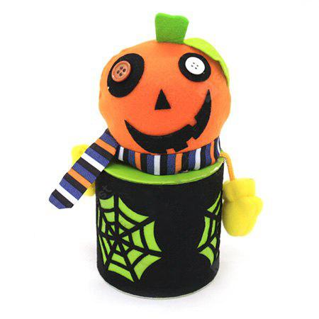 MULTI Halloween Cartoon Decorative Gifts Container Candy Jar