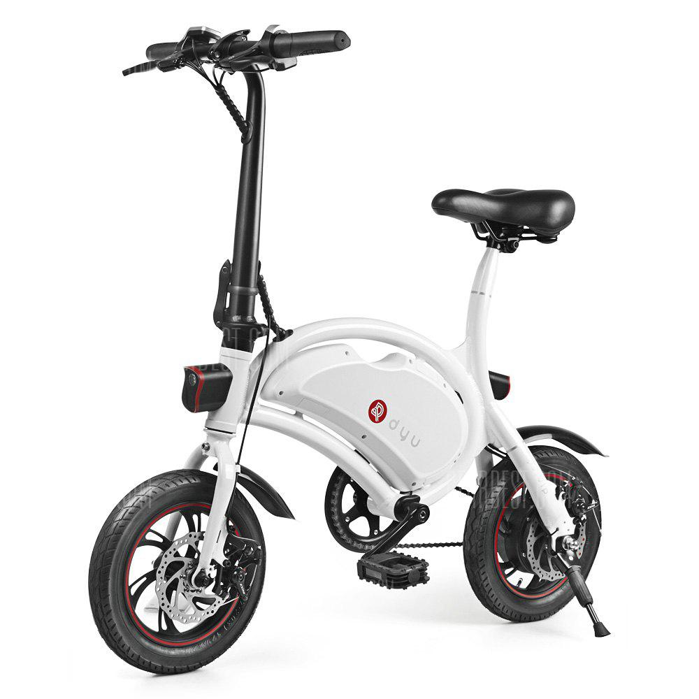 F wheel DYU D2 Folding Electric Bike