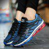 Men Lightweight Breathable Cushioning Athletic Shoes - BLUE