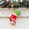 Buy Christmas Decoration Socks Snowman Pattern Candy Gift Bag COLORMIX