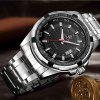 MG.ORKINA PO025 Stainless Steel Men Watch - BLACK