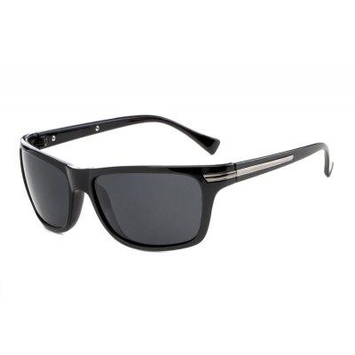 TOMYE P525 Sports Box Polarized Sunglasses for Men