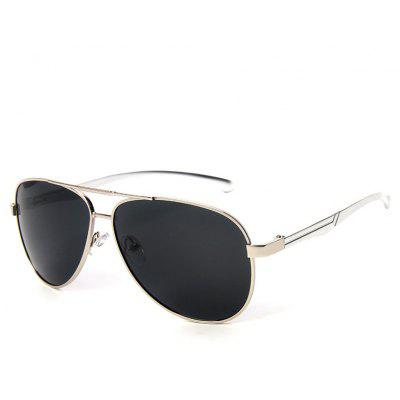 TOMYE P1012 Male Aluminum Magnesium Polarized Sunglasses