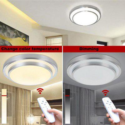 led ceiling lights change color temperature ceiling lamp 40w smart remote control dimmable bedroom living room - Living Room Led Ceiling Lights