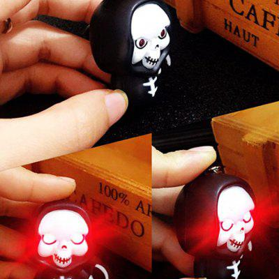 Creative Cartoon LED Luminous Key Ring with BellHalloween Supplies<br>Creative Cartoon LED Luminous Key Ring with Bell<br><br>For: Friends, Kids<br>Package Contents: 1 x Key Ring<br>Package size (L x W x H): 10.00 x 5.00 x 2.00 cm / 3.94 x 1.97 x 0.79 inches<br>Package weight: 0.0250 kg<br>Product size (L x W x H): 5.00 x 4.00 x 3.50 cm / 1.97 x 1.57 x 1.38 inches<br>Product weight: 0.0182 kg<br>Usage: Halloween, Party, Birthday