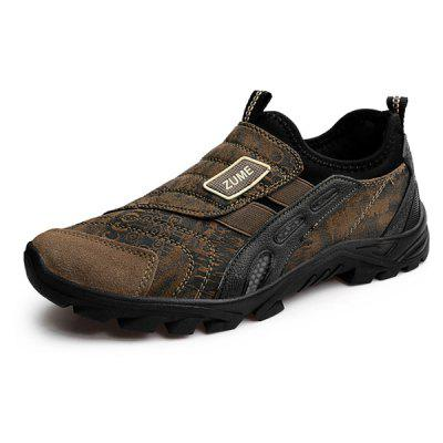 Male Outdoor Versatile Tactical Camouflage Hiking SneakersMen's Sneakers<br>Male Outdoor Versatile Tactical Camouflage Hiking Sneakers<br><br>Closure Type: Slip-On<br>Contents: 1 x Pair of Shoes, 1 x Box<br>Decoration: Split Joint<br>Function: Puncture Resistant, Slip Resistant<br>Materials: Rubber, Suede<br>Occasion: Sports, Running, Riding, Outdoor Clothing, Holiday, Daily, Casual<br>Outsole Material: Rubber<br>Package Size ( L x W x H ): 31.00 x 21.00 x 13.00 cm / 12.2 x 8.27 x 5.12 inches<br>Package Weights: 0.91kg<br>Seasons: Autumn,Spring<br>Style: Modern, Leisure, Fashion, Comfortable, Casual<br>Toe Shape: Round Toe<br>Type: Sports Shoes<br>Upper Material: Suede