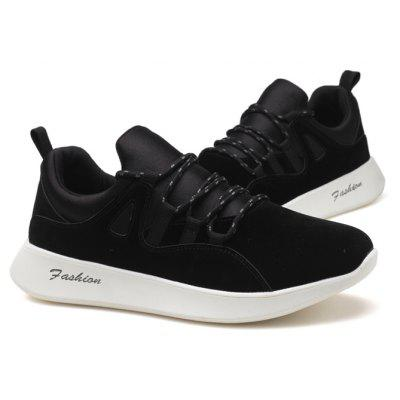Male Soft Ultralight Simple Sports SneakersMen's Sneakers<br>Male Soft Ultralight Simple Sports Sneakers<br><br>Closure Type: Lace-Up<br>Contents: 1 x Pair of Shoes, 1 x Box<br>Decoration: Split Joint<br>Function: Slip Resistant<br>Materials: Rubber, Microfiber<br>Occasion: Sports, Shopping, Riding, Outdoor Clothing, Basketball, Running, Casual, Daily, Holiday<br>Outsole Material: Rubber<br>Package Size ( L x W x H ): 33.00 x 22.00 x 11.00 cm / 12.99 x 8.66 x 4.33 inches<br>Package Weights: 0.86kg<br>Pattern Type: Solid<br>Seasons: Autumn,Spring<br>Style: Modern, Leisure, Fashion, Comfortable, Casual<br>Toe Shape: Round Toe<br>Type: Sports Shoes<br>Upper Material: Microfiber
