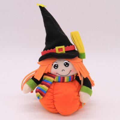 Halloween Ornaments Doll Shape Candy Gifts Biscuit Bags