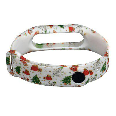 Hand-painted Replacement Wristband for Xiaomi Mi Band 2Smart Watch Accessories<br>Hand-painted Replacement Wristband for Xiaomi Mi Band 2<br><br>Compatible with: Xiaomi Mi Band 2<br>Material: TPU<br>Package Contents: 1 x Wristband<br>Package size: 9.00 x 12.00 x 1.00 cm / 3.54 x 4.72 x 0.39 inches<br>Package weight: 0.0120 kg<br>Product size: 22.50 x 1.80 x 1.00 cm / 8.86 x 0.71 x 0.39 inches<br>Product weight: 0.0110 kg