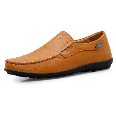 Male Nostalgic Soft Low Profile Breathable Casual OxfordMen's Oxford<br>Male Nostalgic Soft Low Profile Breathable Casual Oxford<br><br>Closure Type: Slip-On<br>Contents: 1 x Pair of Shoes, 1 x Box<br>Function: Slip Resistant<br>Materials: Leather, Rubber<br>Occasion: Tea Party, Shopping, Party, Office, Holiday, Formal, Dress, Daily, Casual<br>Outsole Material: Rubber<br>Package Size ( L x W x H ): 30.00 x 24.00 x 13.00 cm / 11.81 x 9.45 x 5.12 inches<br>Package Weights: 0.82kg<br>Pattern Type: Solid<br>Seasons: Autumn,Spring<br>Style: Modern, Leisure, Formal, Fashion, Comfortable, Casual, Business<br>Toe Shape: Round Toe<br>Type: Casual Leather Shoes<br>Upper Material: Leather