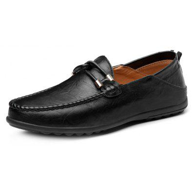 Male Classical Buckle Decorative Low Profile Casual OxfordMen's Oxford<br>Male Classical Buckle Decorative Low Profile Casual Oxford<br><br>Closure Type: Slip-On<br>Contents: 1 x Pair of Shoes, 1 x Box<br>Function: Slip Resistant<br>Materials: Leather, Rubber<br>Occasion: Tea Party, Shopping, Party, Office, Formal, Dress, Daily, Casual<br>Outsole Material: Rubber<br>Package Size ( L x W x H ): 33.00 x 24.00 x 13.00 cm / 12.99 x 9.45 x 5.12 inches<br>Package Weights: 0.78kg<br>Pattern Type: Solid<br>Seasons: Autumn,Spring<br>Style: Modern, Leisure, Formal, Fashion, Comfortable, Casual, Business<br>Toe Shape: Round Toe<br>Type: Casual Leather Shoes<br>Upper Material: Leather