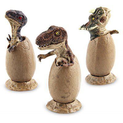 Baby Dinosaur Egg Style Model Toy 3PCS