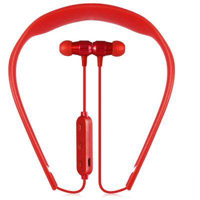BOYI - 5 Neckband Magnetic Absorption Bluetooth Headset