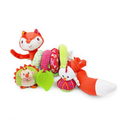 Fox Style Plush Spiral Toy for Baby