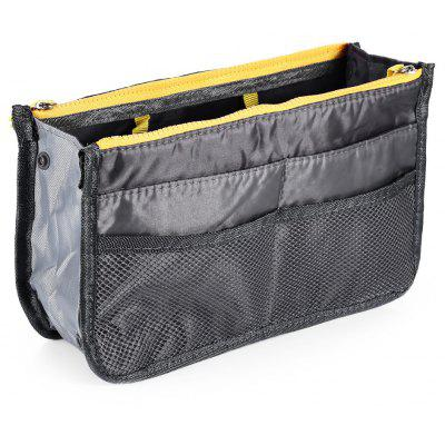 Travel Storage Pouch Bag-in-bag Zipper Wash Makeup Bag