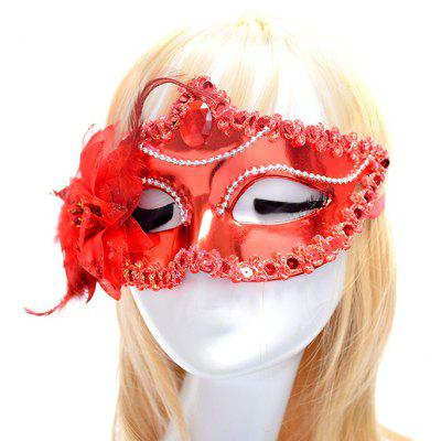 Buy RED Macroart Y 451 Hallowmas Decorations Mask for $6.15 in GearBest store