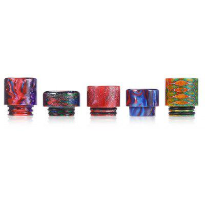PilotVape Resin Drip Tip with 5 Different Pieces