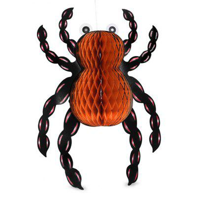 Halloween Creepy Folding Spider Hanging Decoration