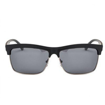 TOMYE P6008 Male Chic Polarized Metal Box Sunglasses