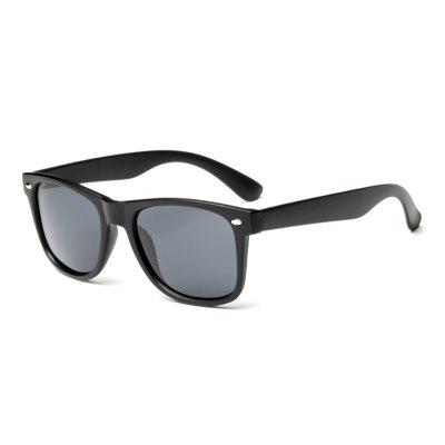 TOMYE 4161 Male Chic Polarized Metal Box Sunglasses
