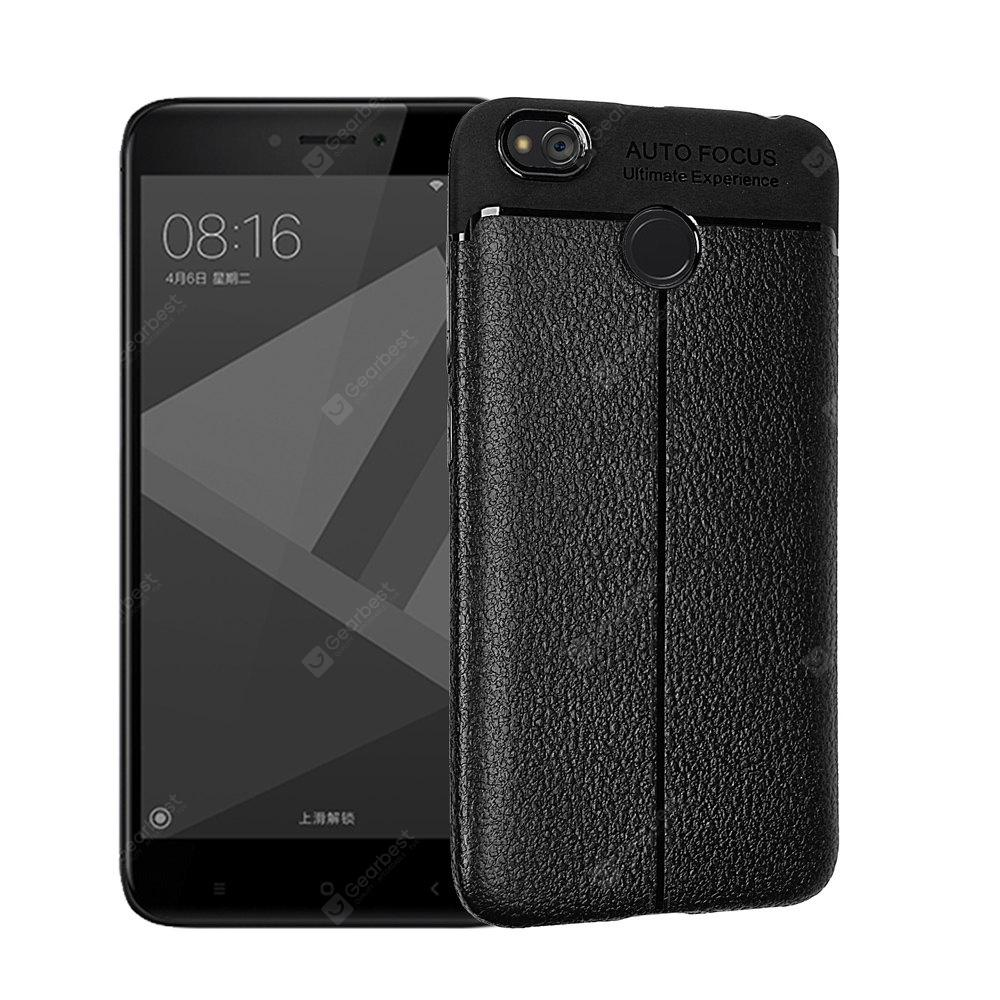 BLACK Luanke Shatter-proof Durable Cover for Xiaomi Redmi 4X