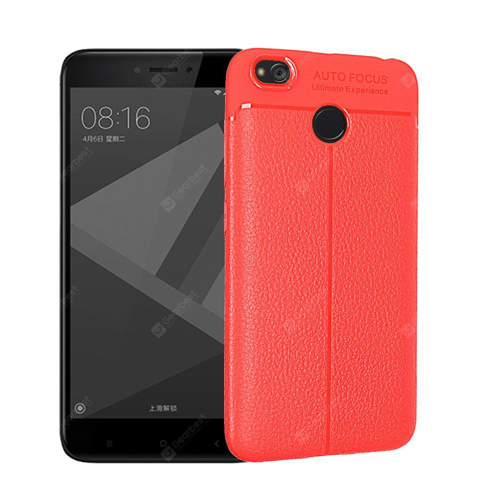 RED Luanke Shatter-proof Durable Cover for Xiaomi Redmi 4X