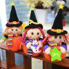 Halloween Ornaments Doll Shape Candy Gifts Biscuit Bags - COLORMIX