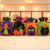Halloween Candy Biscuit Pumpkin Witch Pattern Bag - COLORMIX