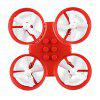 JJRC H67 DIY RC Drone - RTF - RED