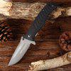 HX OUTDOORS zd - 017 Folding Knife with Liner Lock - DARK GREY