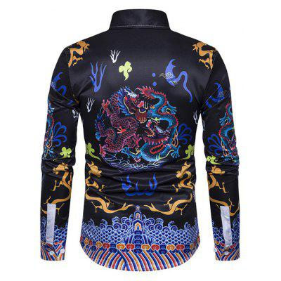 Ethnic Style Dragon Design Printing Shirt for MenMens Shirts<br>Ethnic Style Dragon Design Printing Shirt for Men<br><br>Package Contents: 1 x Shirt<br>Package size: 40.00 x 30.00 x 4.00 cm / 15.75 x 11.81 x 1.57 inches<br>Package weight: 0.3200 kg<br>Product size: 40.00 x 30.00 x 4.00 cm / 15.75 x 11.81 x 1.57 inches<br>Product weight: 0.3000 kg