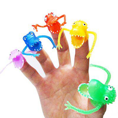 Plastic Finger Toy with Dinosaur Style 10PCSNovelty Toys<br>Plastic Finger Toy with Dinosaur Style 10PCS<br><br>Features: Cartoon, Creative Toy, Mini<br>Materials: Plastic<br>Package Contents: 10 x Finger Toy<br>Package size: 6.00 x 5.00 x 3.00 cm / 2.36 x 1.97 x 1.18 inches<br>Package weight: 0.0600 kg<br>Product size: 4.50 x 4.00 x 2.00 cm / 1.77 x 1.57 x 0.79 inches<br>Product weight: 0.0400 kg<br>Series: Entertainment,Lifestyle<br>Theme: Animals