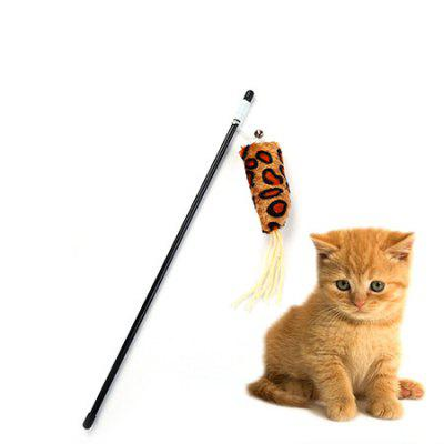 Pet Toy Interactive Catcher Cat Teaser with BellCat Toys<br>Pet Toy Interactive Catcher Cat Teaser with Bell<br><br>For: Cats<br>Package Contents: 1 x Cat Teaser<br>Package size (L x W x H): 46.60 x 5.50 x 3.50 cm / 18.35 x 2.17 x 1.38 inches<br>Package weight: 0.0210 kg<br>Product size (L x W x H): 68.60 x 5.00 x 3.00 cm / 27.01 x 1.97 x 1.18 inches<br>Product weight: 0.0200 kg<br>Type: Cat Toys
