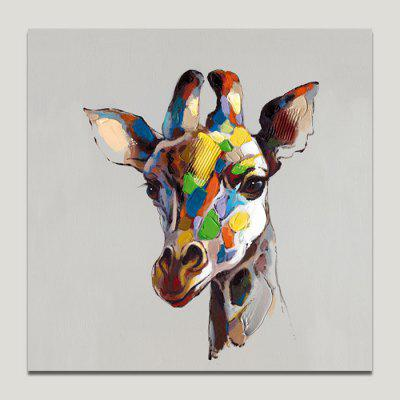 Buy COLORMIX YHHP Cartoon Donkey Print Modern Frameless Canvas Painting for $16.27 in GearBest store