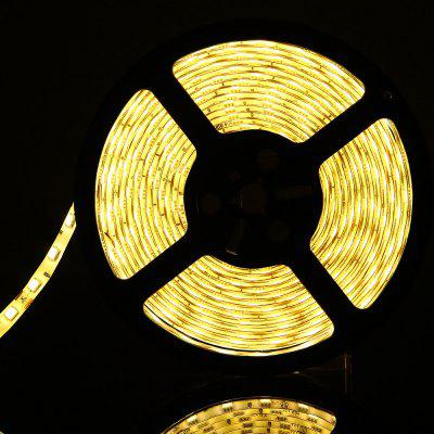 Buy WARM WHITE LIGHT Flexible 5m 5050 SMD LED Strip Light DC12V for $11.05 in GearBest store