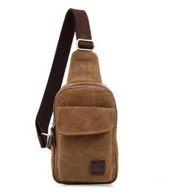 EVEVEME 0012 Multifunctional Canvas Sling Bag