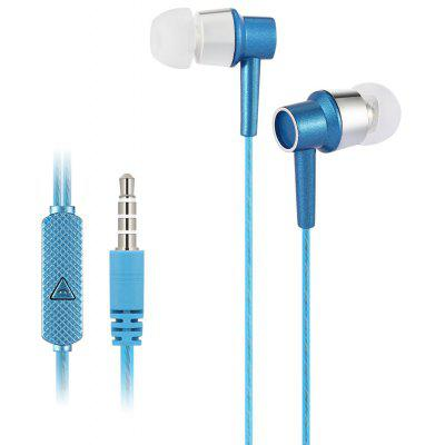 KSD - A22 On-cord Control In-ear Earphones with MIC