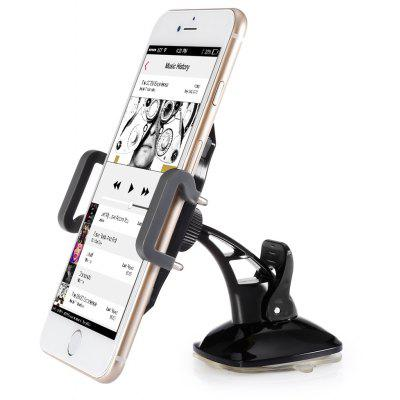 Mini Car Sucker Phone Holder 360 Degree Rotatable Stand