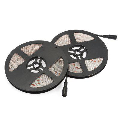 Waterproof LED Strip SMD3528 for TV Background 5MLED Strips<br>Waterproof LED Strip SMD3528 for TV Background 5M<br><br>Beam Angle: 120<br>Color Temperature or Wavelength: 450 - 460nm<br>Features: Festival Lighting<br>LED Quantity: 300<br>Length ( m ): 5<br>Light Source: 3528 SMD<br>Light Source Color: Blue<br>Package Content: 1 x LED Strip, 2 x EU Power Adapter<br>Package size (L x W x H): 26.50 x 16.50 x 5.50 cm / 10.43 x 6.5 x 2.17 inches<br>Package weight: 0.6580 kg<br>Power Supply: 220V<br>Product weight: 0.5600 kg<br>Type: LED Strip Light<br>Voltage: 220V<br>Waterproof Rate: IP65<br>Wattage (W): 24