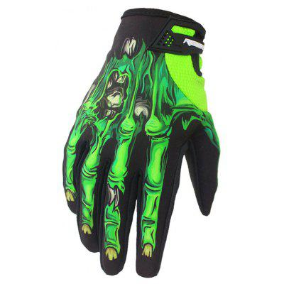 Garra al aire libre Full Finger Motocross Bicycle Riding Gloves